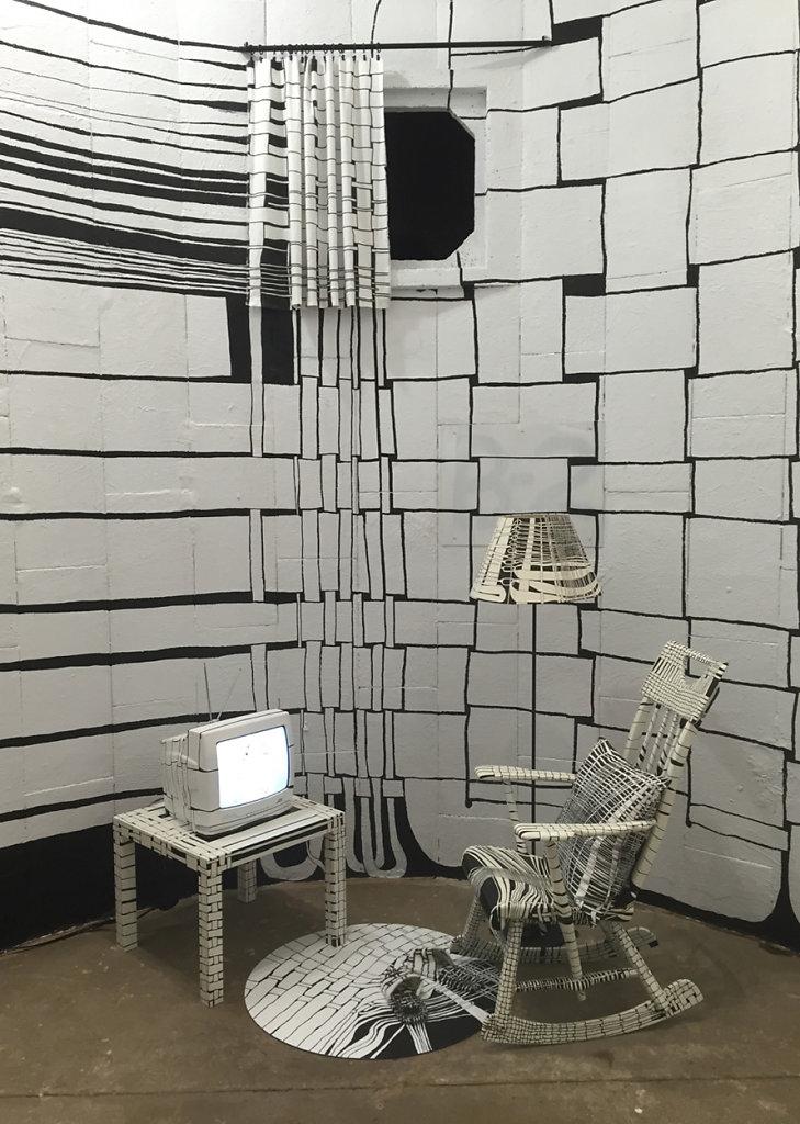 woven living room